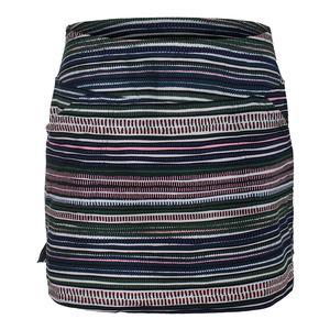Women`s Mina Tennis Skort Aurora Stripe