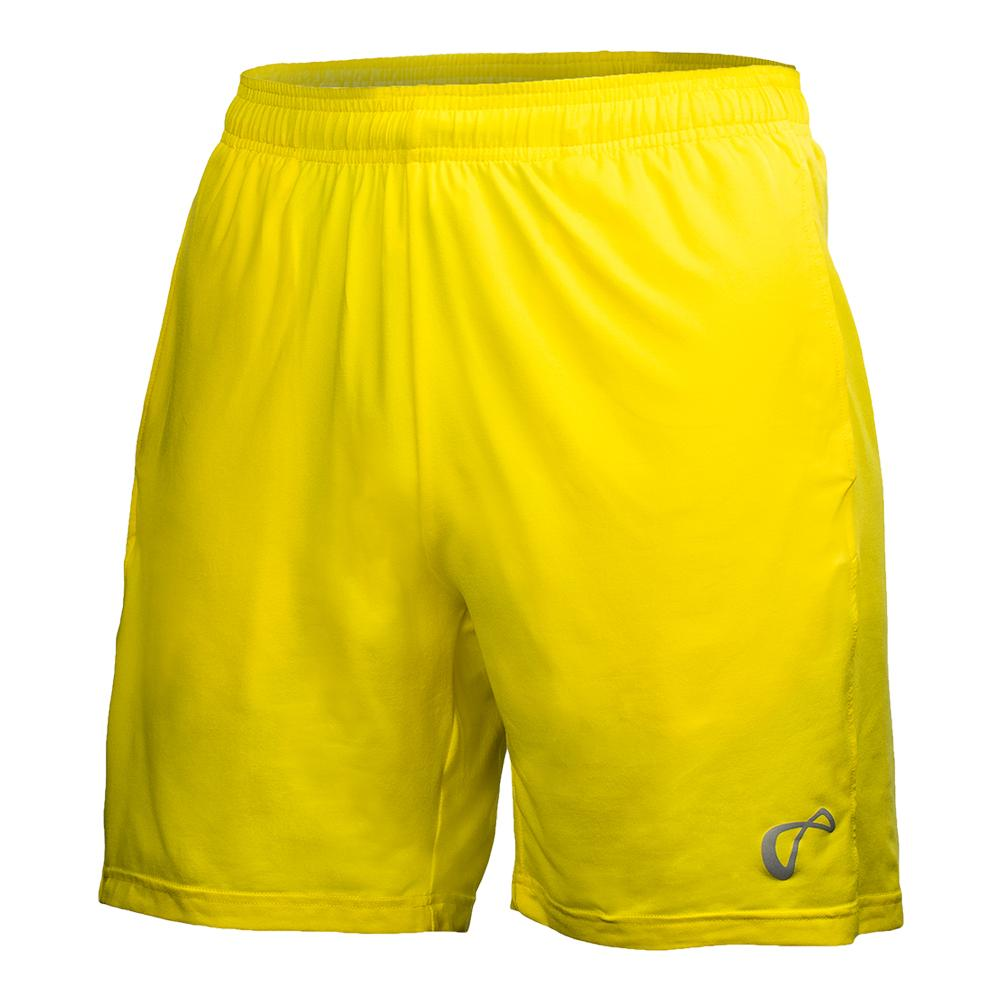 Boys ` Hitting Tennis Short Buttercup