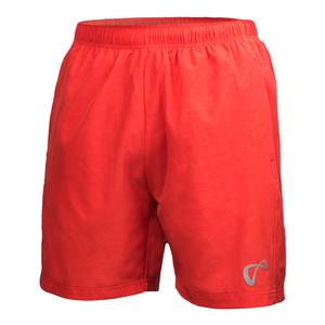 Men`s Brushed Emboss Woven Tennis Short Popp
