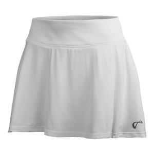 Girls` Circle Tennis Skort White