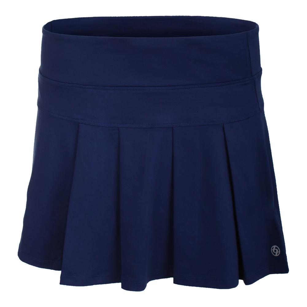 Women's Modern Pleated Tennis Skort Ocean