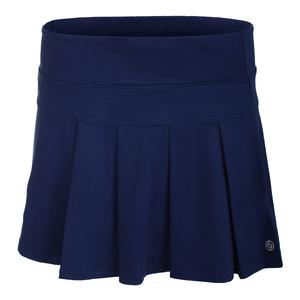 Women`s Modern Pleated Tennis Skort Ocean