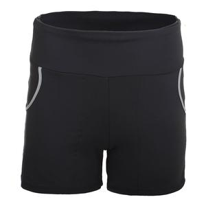 Women`s Compression Tennis Short Gray