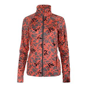 Women`s Slow Burn Tennis Jacket Epiphany Print