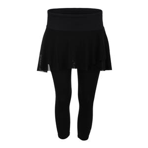 Women`s Outskirt Tennis Capri Black