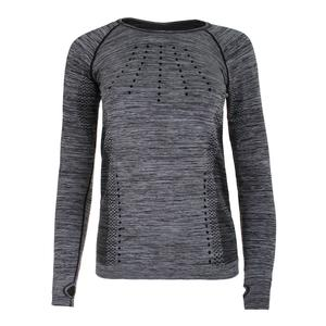 Women`s Absolute Long Sleeve Tennis Top Black