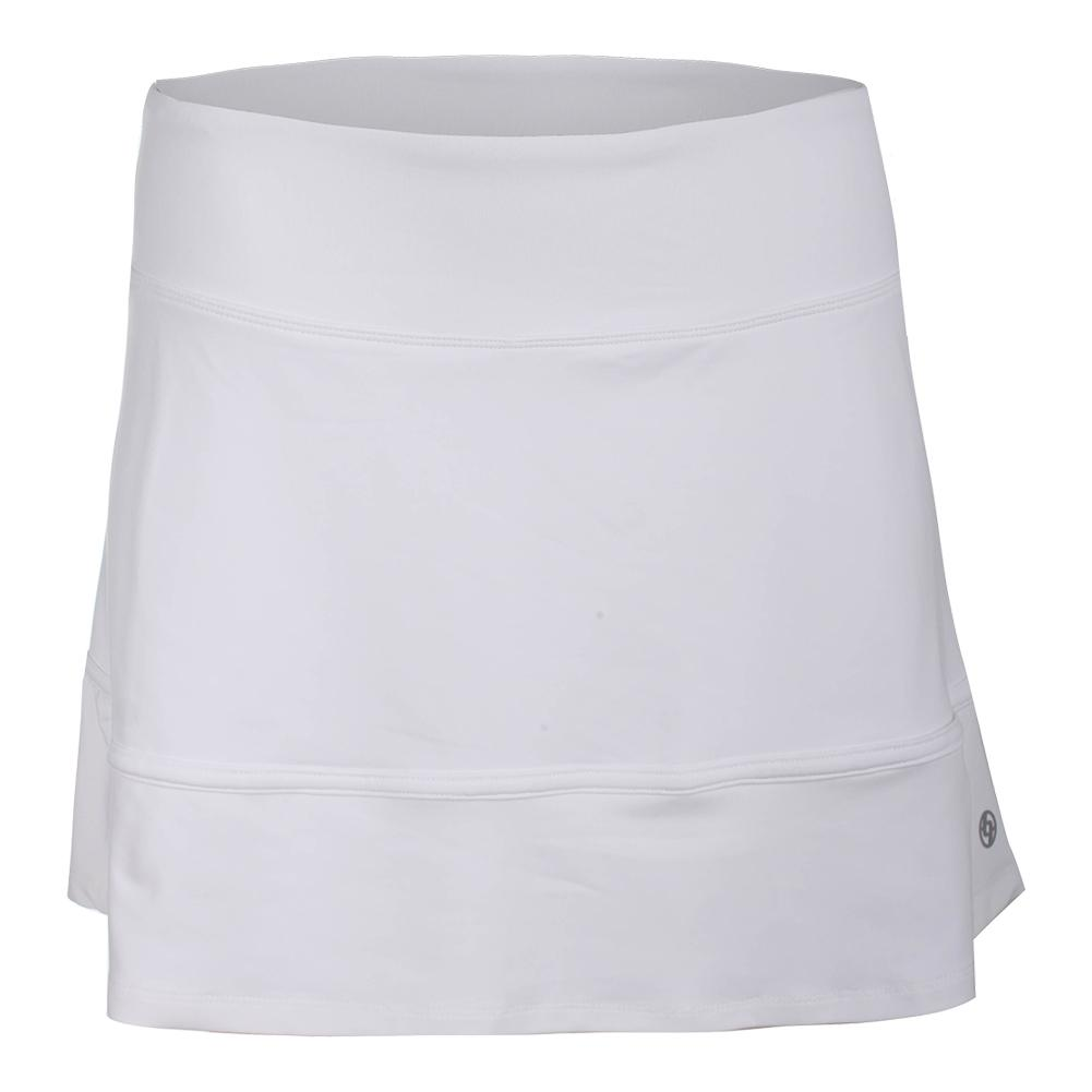 Women's Hustle Tennis Skort White