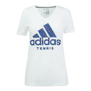 Women`s BOS Tennis Apple Tee White