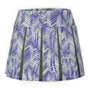 Women`s Amelia 14.5 Inch Tennis Skort D853_TARGET_LINE_IND