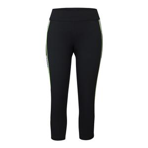 Women`s Rae Compression Tennis Legging Black and Target Line Indigo