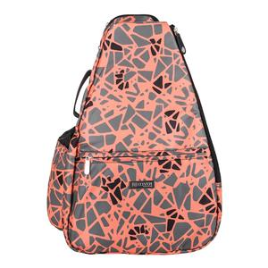 Women`s Tennis Backpack Epiphany Print