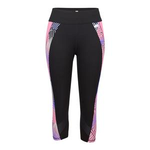 Women`s Reese Compression Tennis Legging Agility and Black