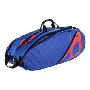 Tour Mega Tennis Bag Blue and Lava