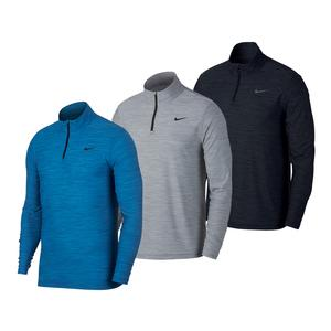 Men`s Breathe Quarter Zip Long Sleeve Top