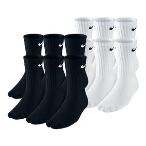 Boys` Performance Cushion Crew Socks 6 Pack