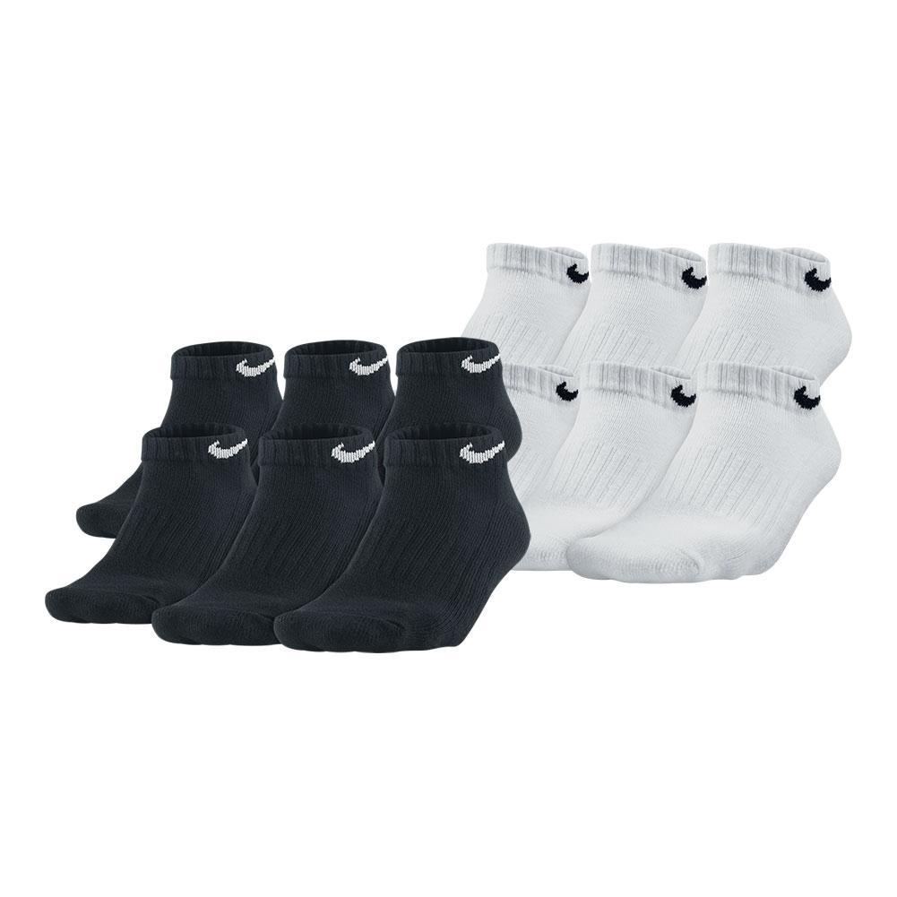 51e3269136c51 Nike Kid's Performance Cushion Low Socks 6 Pack