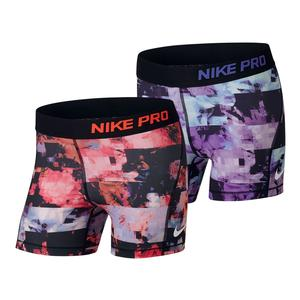 Girls` All Over Print Boy Short