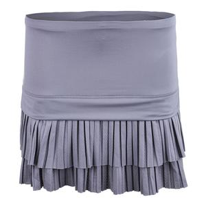 Women`s Long Double Pleat Tennis Skort Eclipse