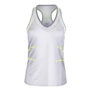 Women`s Love Not War Tennis V Tank Eclipse