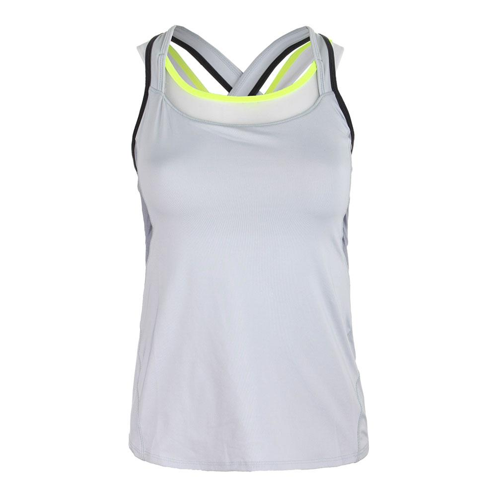 Women's Cover Up Tennis Tank Dove