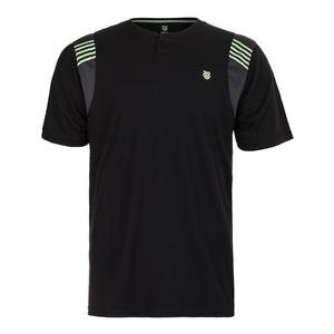 Men`s B2 Tennis Crew Puma Black and Dark Shadow