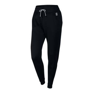 Women`s Court Tennis Pant Black and Wolf Gray