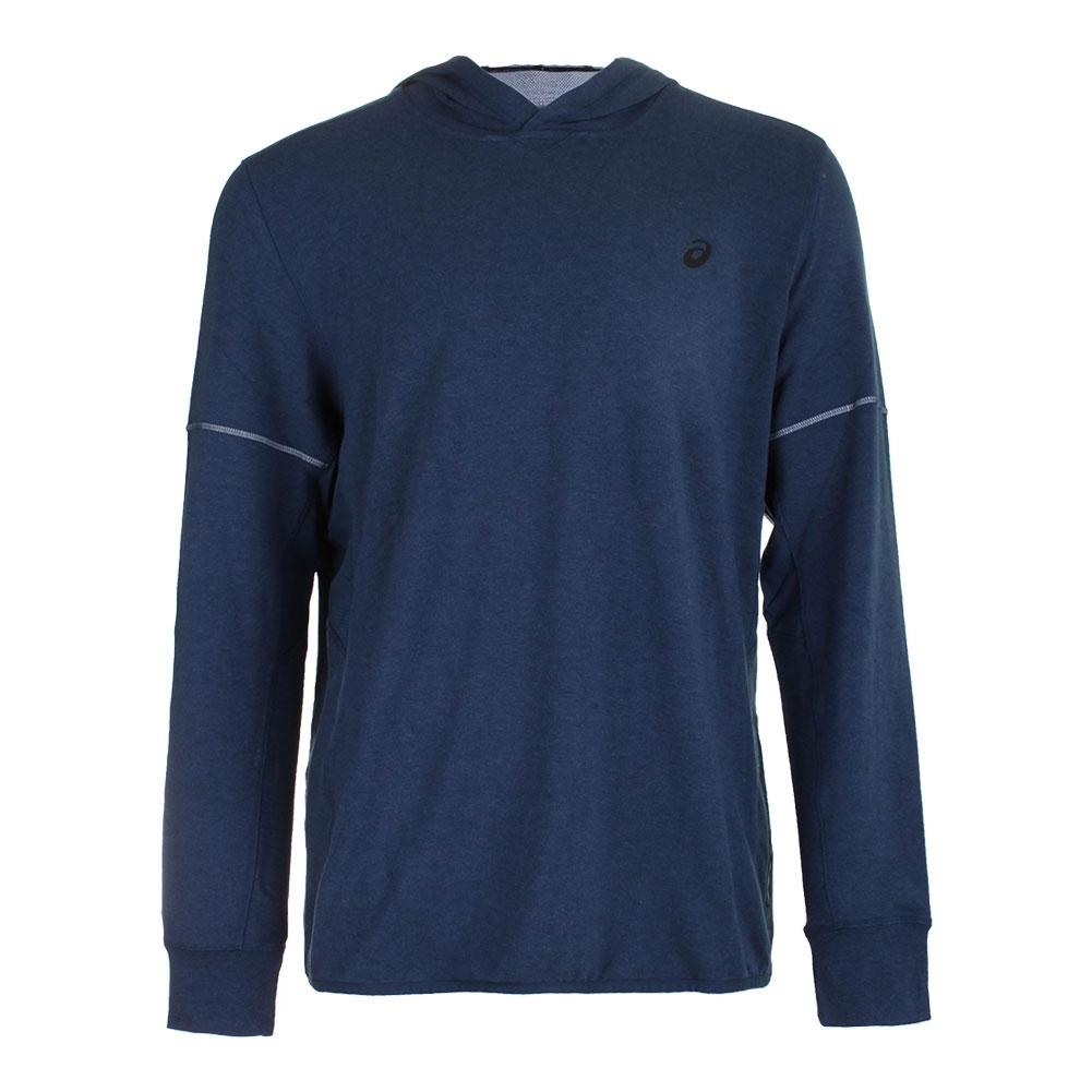 Men's Lightweight Fleece Hoody Insignia Blue Heather