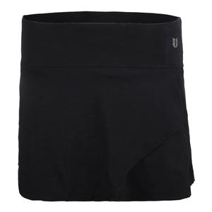 Women`s Fly 13 Inch Tennis Skort Black