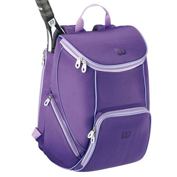 Perfect Pac Purple Passion BackpackThis Tennis specific backpack ...