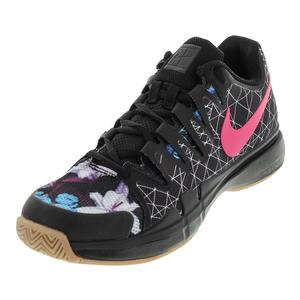 Men`s Air Zoom Vapor 9.5 Tour Tennis Shoes Black and Pearl Pink