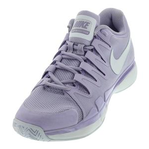 Women`s Air Zoom Vapor 9.5 Tour Tennis Shoes Violet Mist and White