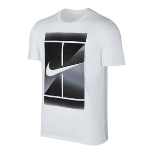 Men`s Dry Tennis Tee White