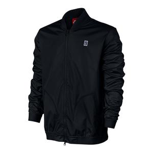 Men`s Court Bomber Tennis Jacket Black