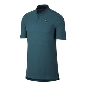 Men`s Court Tennis Polo Iced Jade