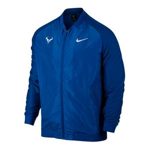 Men`s Rafa Court Tennis Jacket Blue Jay
