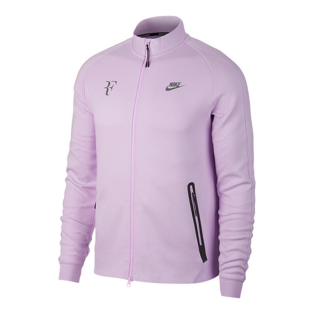 Men's Roger Federer Court N98 Tennis Jacket Violet Mist