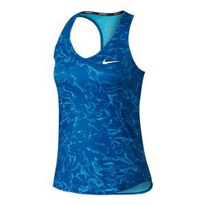 Women`s Court Pure Tennis Tank Blue Jay