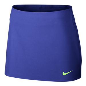 Women`s Court Power Spin 13 Inch Tennis Skort Paramount Blue