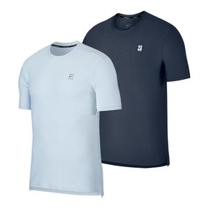Men`s Court Checkered Tennis Top