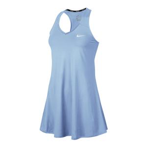 Women`s Court Tennis Dress Hydrogen Blue