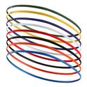 Skinny Hairbands 8 Pack 914_GAME_ROYAL/ORAN