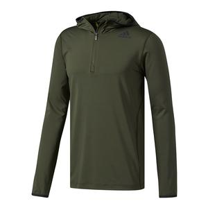 Men`s Techfit Cold Weather Quarter Zip Hoodie Night Cargo