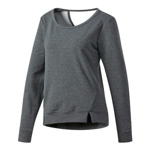 Women`s Performer Long Sleeve Cover Up Dark Gray Heather