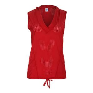 Women`s Tennis Hoody Red