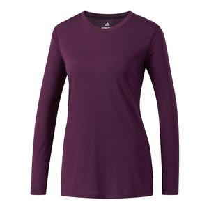 Women`s Ultimate Long Sleeve Tee Red Night