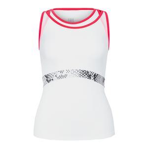 Women`s Regina Racerback Tennis Tank White