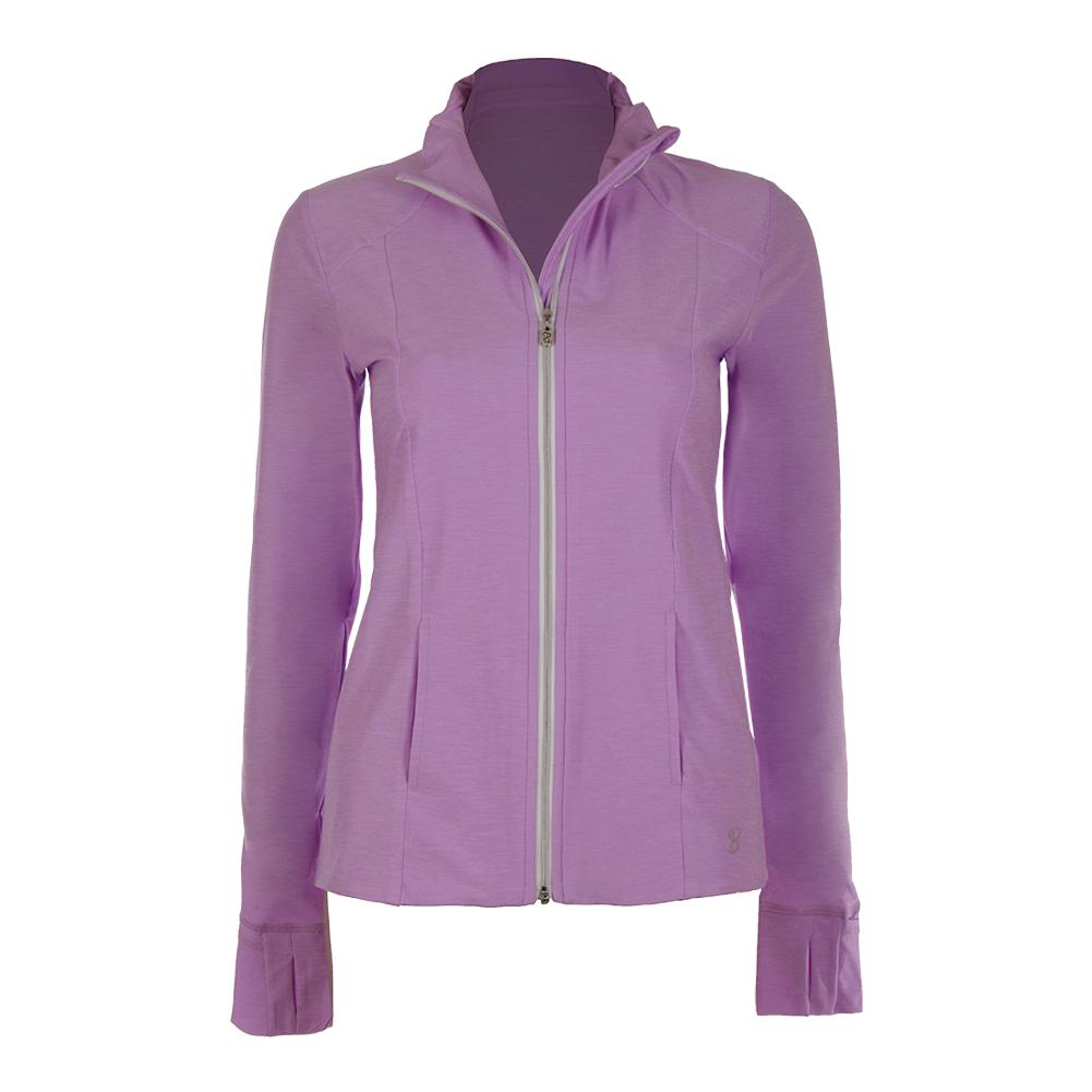 Women's Tennis Jacket Lilac Melange
