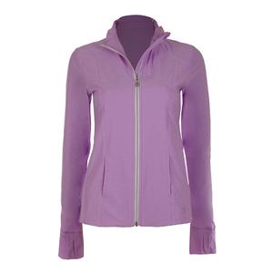 Women`s Tennis Jacket Lilac Melange