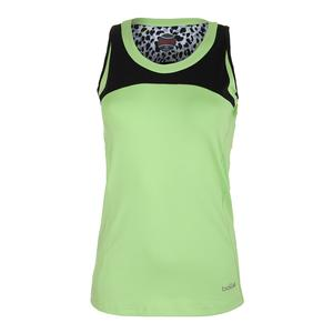 Women`s Primal Instinct Tennis Tank Melon and Black