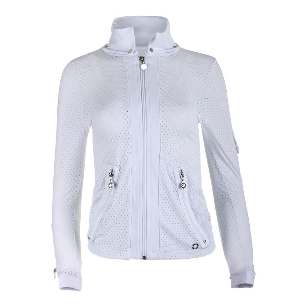 Women's Cosmo Tennis Jacket White